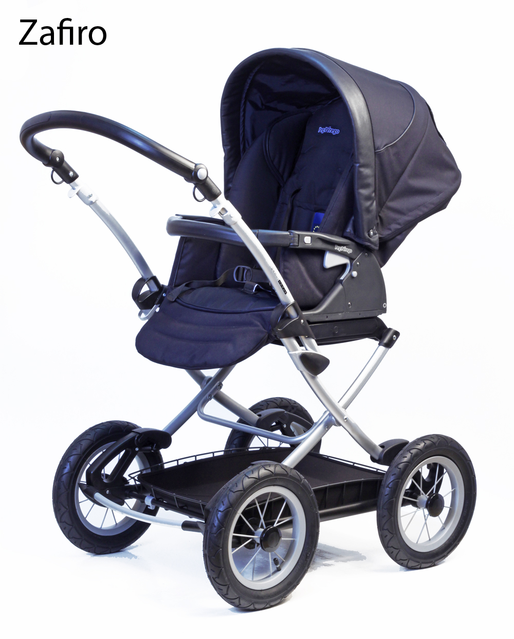 peg perego culla retro kinderwagen mit gro er babywanne. Black Bedroom Furniture Sets. Home Design Ideas