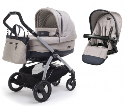 Коляска 2 в 1 Peg Perego Book Plus Culla Elite + Seggiolino Pop Up
