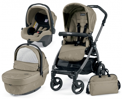 Коляска 3 в 1 Peg Perego Book Plus Geo Set Modular