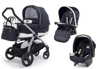 Коляска 3 в 1 Peg Perego Book Plus Culla Elite + Seggiolino Pop Up