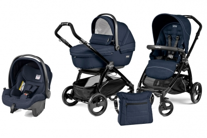 Коляска 3 в 1 Peg Perego Book Plus XL Modular System (прогулочный блок Pop-Up Sportivo)