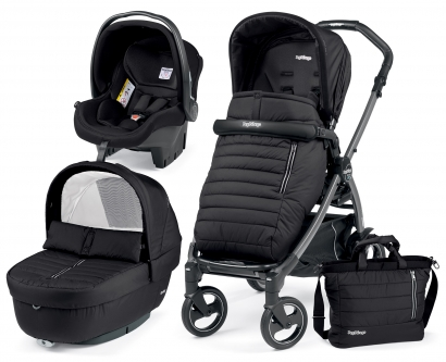 Коляска 3 в 1 Peg Perego Book S Breeze Modular (шасси White/Black)