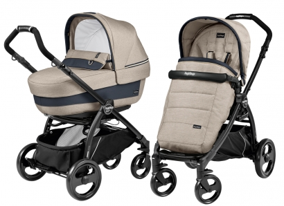 Коляска 2 в 1 Peg Perego Book Plus Elite Modular System (прогулочный блок Pop-Up Completo)
