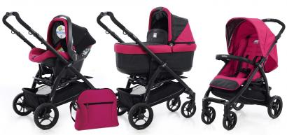 Детская коляска 3 в 1 Peg Perego Booklet Pop-UP Set Modular