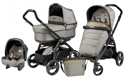 Коляска 3 в 1 Peg Perego Book Plus Pop-Up Modular System (прогулочный блок Pop-Up Completo)