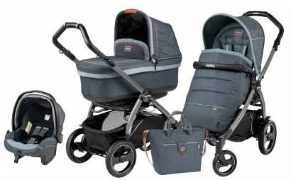 Коляска 3 в 1 Peg Perego Book 51S Pop Up Set Modular (шасси Jet)