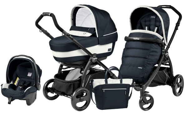 Peg Perego Book Plus Elite Modular System Luxe Blue