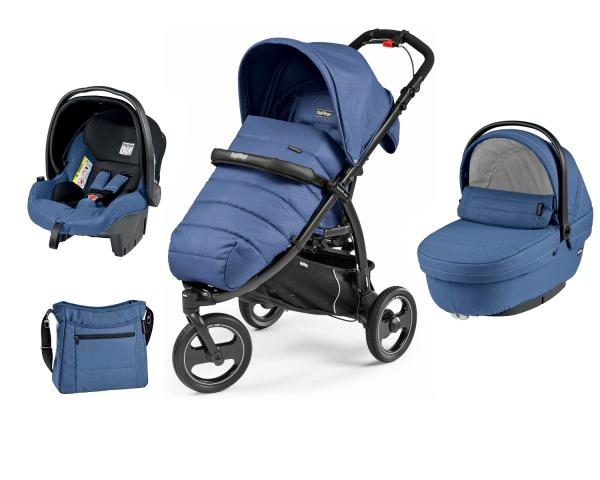 Коляска 3 в 1 Peg Perego Book Cross Modular System