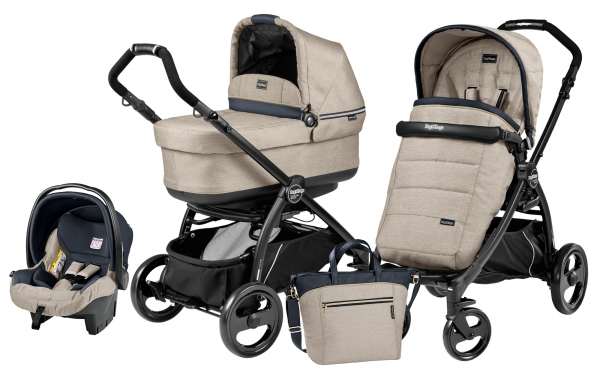 Peg Perego Book Plus Set Modular Pop-Up Luxe Beige