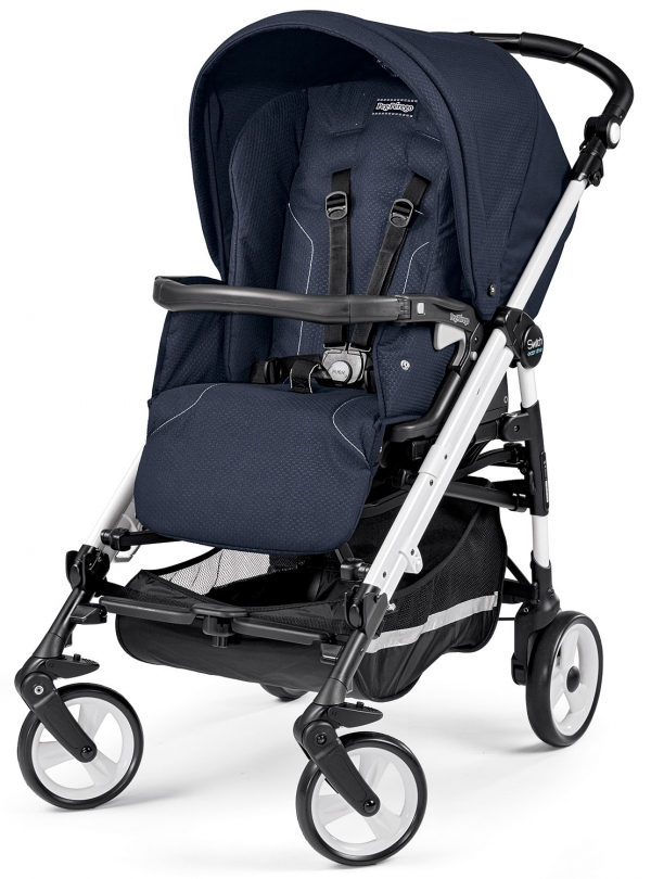 Коляска-трость Peg Perego Pliko Switch Easy Drive Sportivo Mod Navy