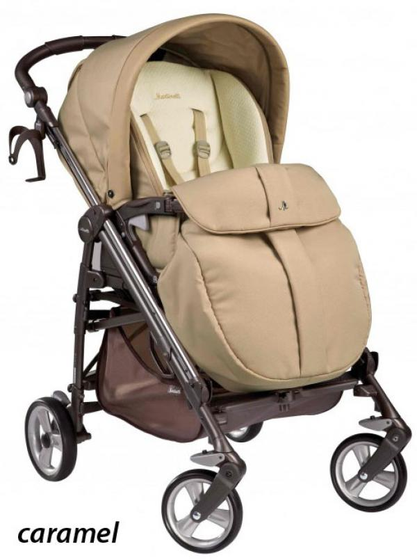 Коляска-трость Peg Perego Pliko Switch Easy Drive Martinelli Caramel