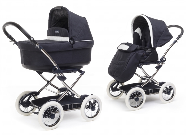 Коляска 2 в 1 Peg Perego Navetta Pop-Up Chrome + Seggiolino Giro