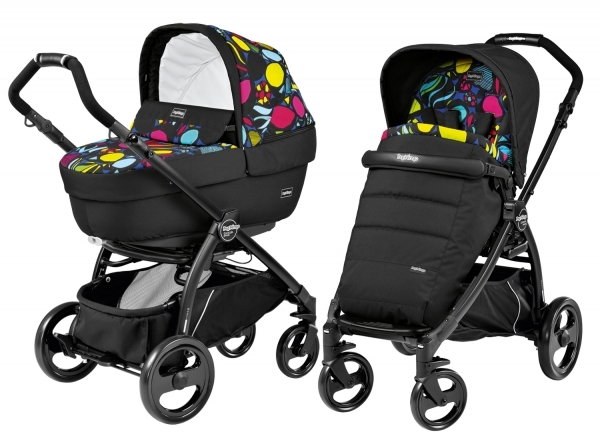 Коляска 2 в 1 Peg Perego Book Plus Elite Modular System (прогулочный блок Pop-Up Completo) Manri