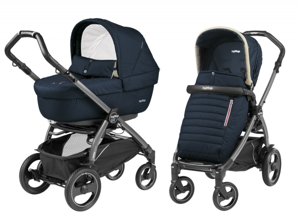 Коляска 2 в 1 Peg Perego Book 51S Elite Modular System (прогулочный блок Pop-Up Completo) Breeze Blue