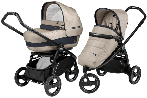 Коляска 2 в 1 Peg Perego Book Scout Elite Modular System Luxe Beige