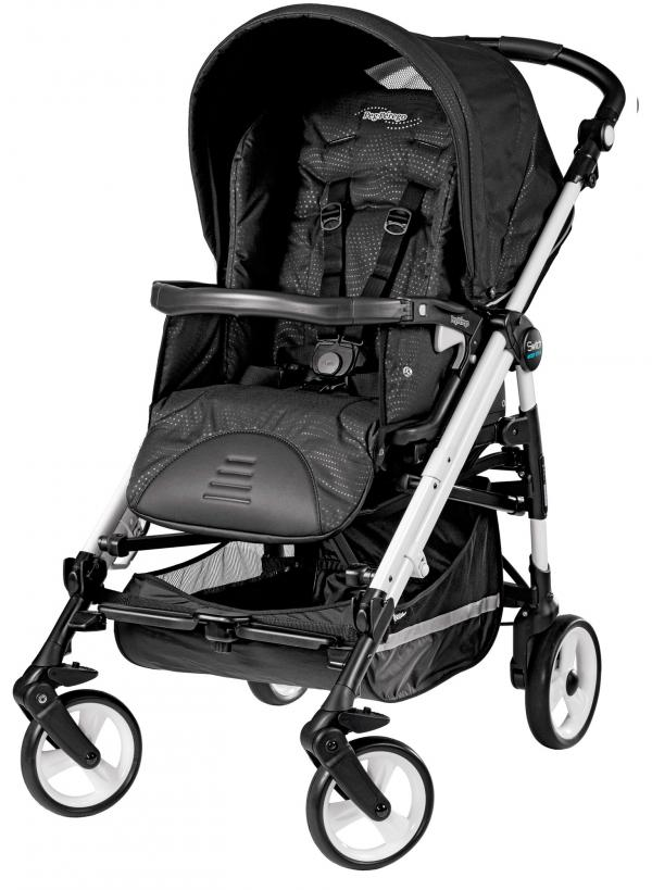 Коляска-трость Peg Perego Pliko Switch Easy Drive Sportivo Galaxy