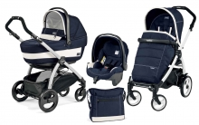 Коляска 3 в 1 Peg Perego Book Plus XL Modular System (прогулочный блок Pop-Up Completo)