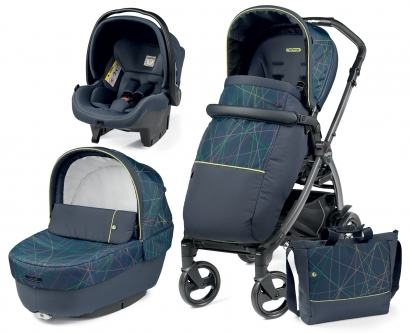 Коляска 3 в 1 Peg Perego Book New Life Elite Modular