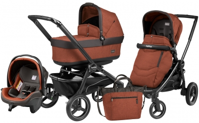 Коляска 3 в 1 Peg Perego Team Pop Up Set Modular