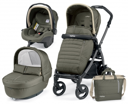 Коляска 3 в 1 Peg Perego Book Plus Breeze Set Modular