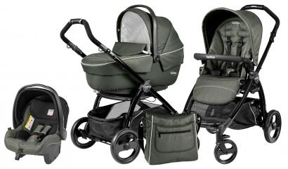 Коляска 3 в 1 Peg Perego Book Plus XL Set Modular (прогулочный блок Pop-Up Sportivo)