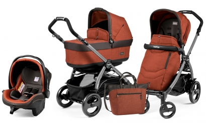 Коляска 3 в 1 Peg Perego Book 51 Pop Up Set Modular (шасси Jet)