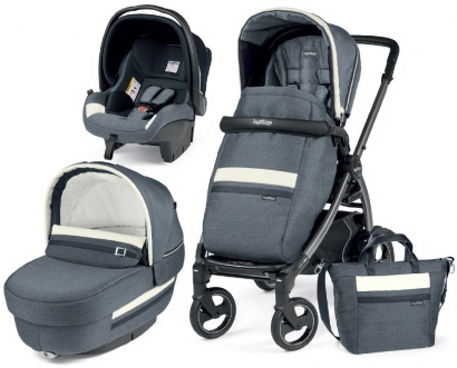 Коляска 3 в 1 Peg Perego Book 51 S Elite Set Modular (шасси Titania)