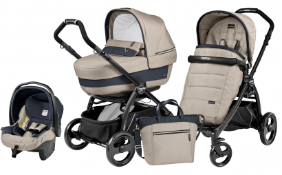 Коляска 3 в 1 Peg Perego Book Plus Elite Set Modular (прогулочный блок Pop-Up Completo)