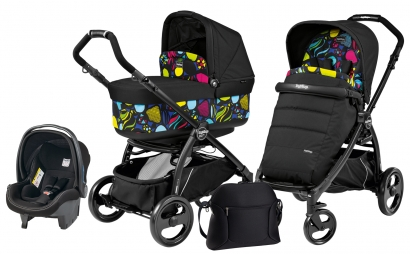 Коляска 3 в 1 Peg Perego Book Plus Pop Up Set Modular (прогулочный блок Pop-Up Completo)