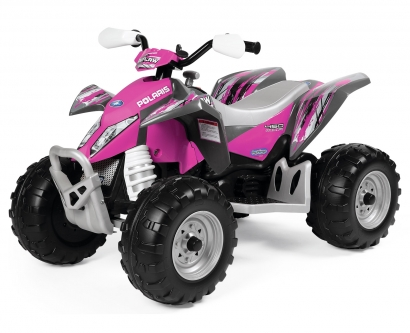 Электромобиль Peg Perego Polaris Outlaw Pink Power