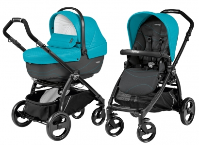 Коляска 2 в 1 Peg Perego Book Plus XL Modular System (прогулочный блок Pop-Up Sportivo)