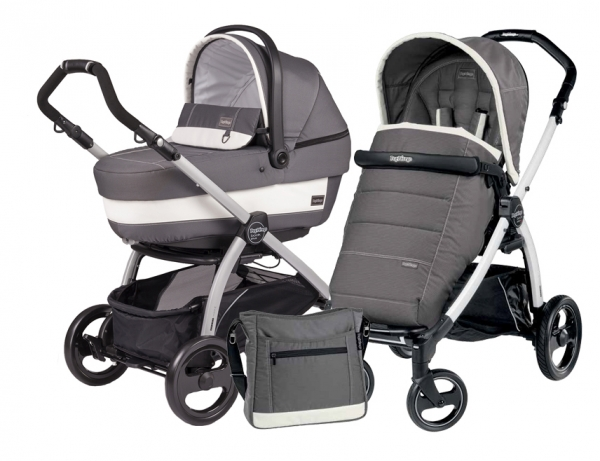 Коляска 2 в 1 Peg Perego Book Plus XL Modular System (прогулочный блок Pop-Up Completo) Ascot