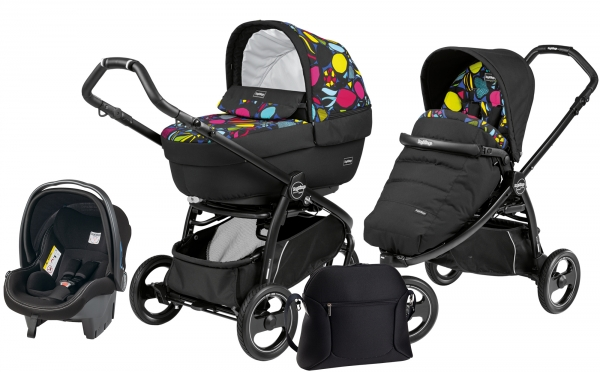 Коляска 3 в 1 Peg Perego Book Scout Elite Set Modular (прогулочный блок Pop-Up Completo)